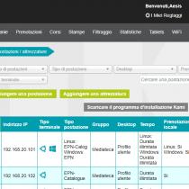Gestione delle postazioni / attrezzature - Webkiosk 4.8