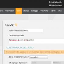 Corsi - Webkiosk 4.8