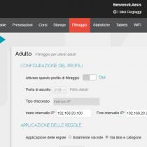 Profili di filtraggio - Webkiosk 4.8