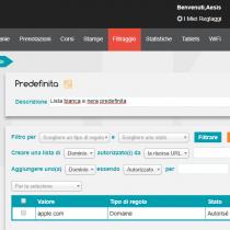 Gestione delle liste - Webkiosk 4.8