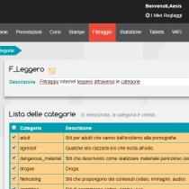 Gestione delle categorie - Webkiosk 4.8
