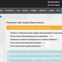 Amministratione > Parametri - Webkiosk 4.8