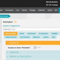 Amministratione > Gruppi e autorizzazioni - Webkiosk 4.8
