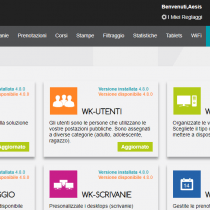 Amministratione > Moduli - Webkiosk 4.8