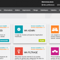 Administration - Modules - Webkiosk 4
