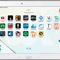 Interface tablette - Appli - Webkiosk 4