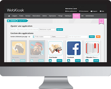 Applications - Webkiosk - Aesis Conseil