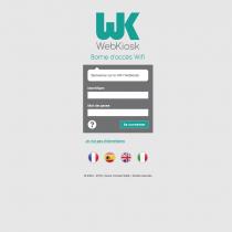 Portail Wifi - Webkiosk 4