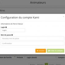 Configuration de Kami